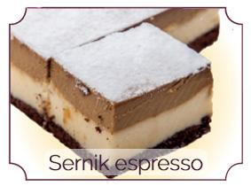sernik espresso