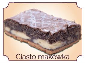 ciasto makĘwka