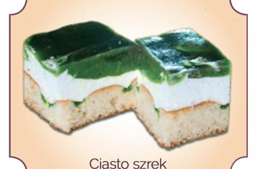 ciasto szrek