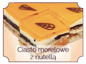ciasto morelowe z nutell•