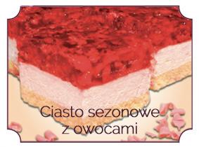 ciasto sezonowe z owocami