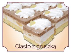 ciasto z gruszk•