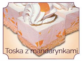 toska z mandarynkami